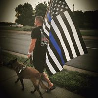 Minneapolis Police Officers Raise Money for PTSD Service Dogs